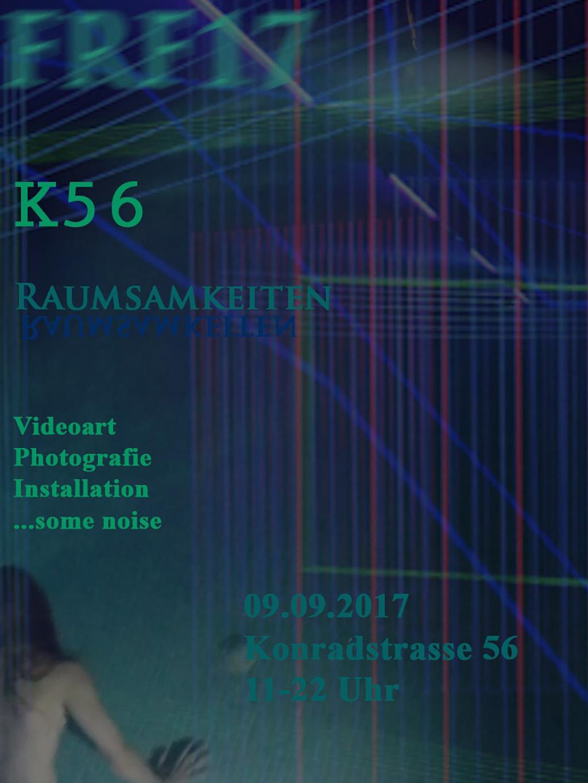 Universum K56 Leipzig Raumsamkeiten Freiraumfestival
